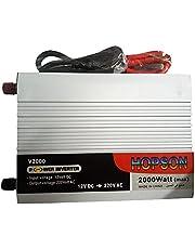 محول كهرباء عاكس تيار او inverter انفرتر من بطارية السيارة ل220فولت - قدرة 2000 وات