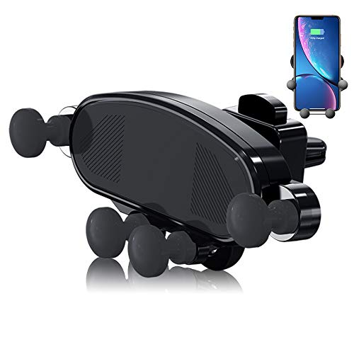 Car Phone Mount, Air Vent Phone Holder for Car, Cshidworld Handsfree Shockproof Cell Phone Car Cradle for iPhone Xs/Xs Max/XR/X /8/8 Plus/7/7 Plus Samsung Galaxy S10/S10+/S9/S9+