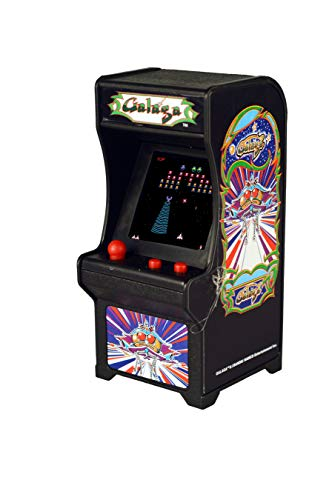 Tiny Arcade Galaga Miniature Arcade Game, Multicolor, used for sale  Delivered anywhere in USA