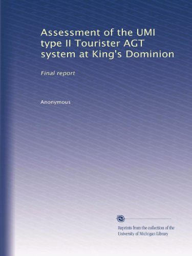 assessment-of-the-umi-type-ii-tourister-agt-system-at-kings-dominion-final-report