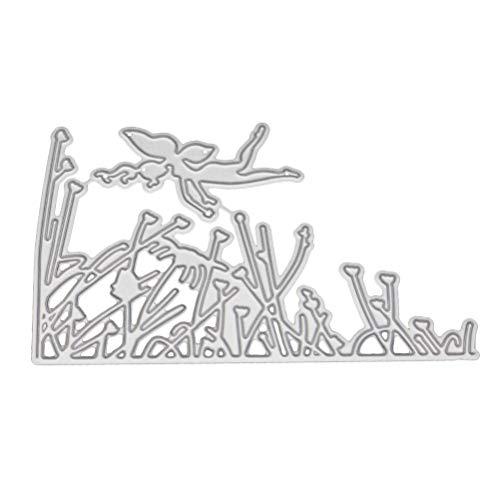 SUPVOX 金属切削は、ステンシルDIYスクラップブッキングアルバム紙クリスマスカードクラフト装飾