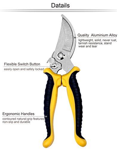 Lanbozita garden tools 7 piece gardening tools set for Gardening tools malaysia