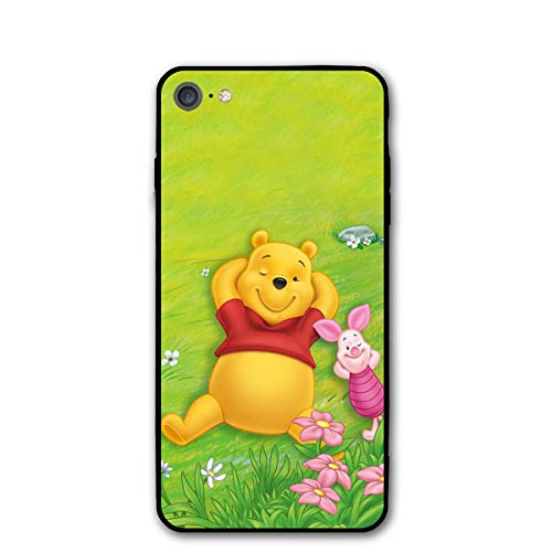 - iPhone 7 iPhone 8 Case- Stylish Winnie The Pooh Spring PC Slim Shockproof Flexible Back Protective Case for iPhone 7/iPhone 8
