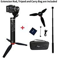 Feiyu G6 handheld gimbal for Gopro hero6/5/4 including Adjustable Tripod and Extension Rod