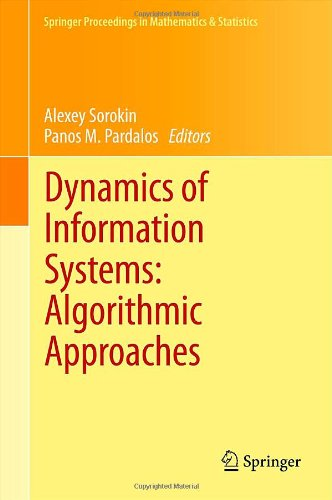 Dynamics of Information Systems: Algorithmic Approaches by , Publisher : Springer