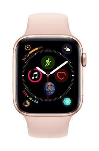Apple Watch Series 4 (GPS, 44mm) - Gold Aluminium Case with Pink Sand Sport Band
