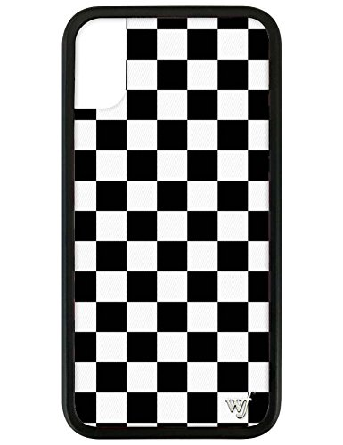 info for b6859 32c76 Wildflower Limited Edition iPhone Case for iPhone X and XS (White & Black  Checkered)