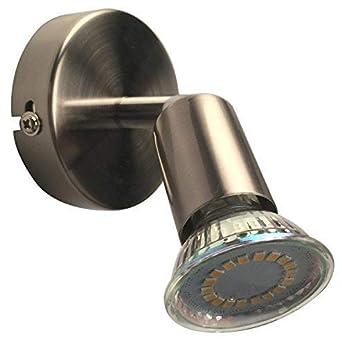 Lámpara de pared LED Giro Bar Incluye 1 x 3 W Bombilla 230 V 10 GU