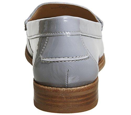 Perustaja Patentti Toimisto Nahka Loafers Harmaa 7Ywq0Fq