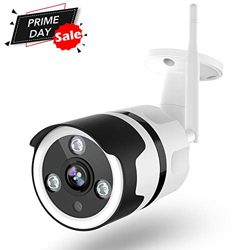 Outdoor Security Camera, 1080P Surveillance Cameras Outdoor WiFi
