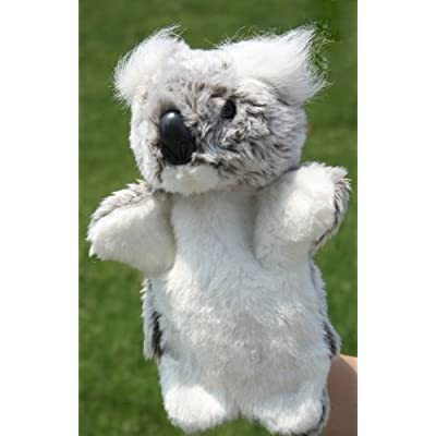 Cute Animal Shape Soft Plush Hand Glove Puppets Doll Toy For Kids Preschool Kindergarten Chlidren-Koala: Toys & Games