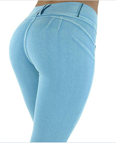 Darrin - Jeans - Femme blanc Wei? m bleu