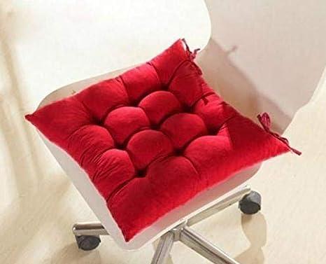 SROVFIDY Sedia a Sdraio in Morbido Cuscino Sedile in Cuscino Seduta da Giardino 40x40x8cm Size 1PCS Coffee