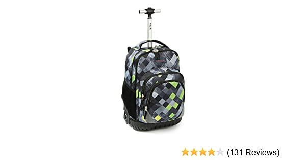 e514d7654c6e Amazon.com  Tilami Rolling Backpack Armor Luggage School Travel Book Laptop  18 Inch Multifunction Wheeled Backpack Kids Students  Clothing