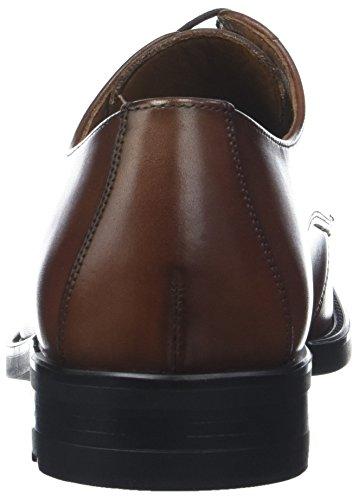 cognac Braun Derby Scarpe Stringate 3 Plaza Uomo Lloyd qAwXYC