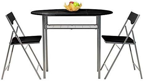 mesas con alas abatibles y sillas cocina
