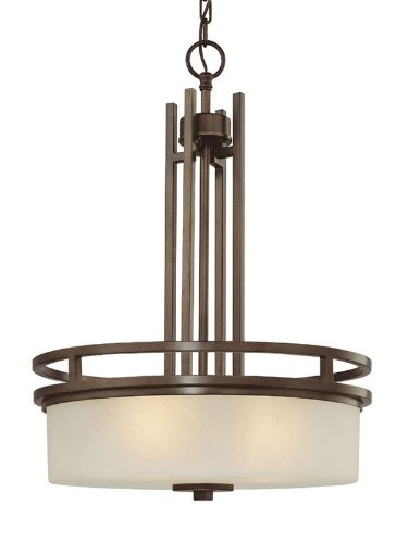 Dolan Bronze Pendant (Dolan Designs 2884-62 Three Light Pendant)