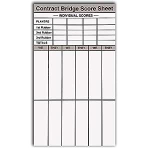 Amazon Com Baron Barclay Contract Party Rubber Bridge