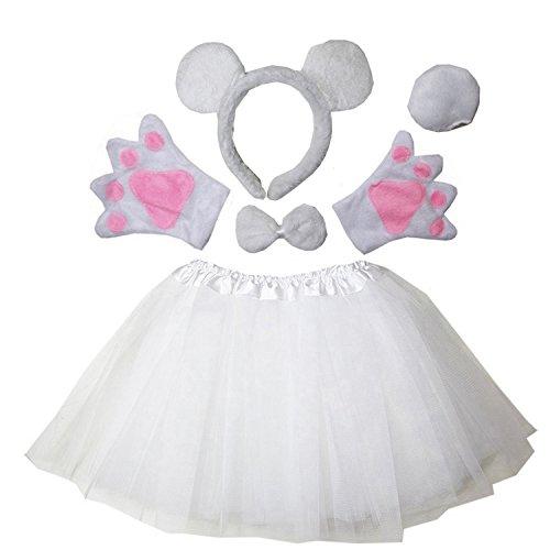 Kirei Sui Kids Costume Tutu Set Polar (Polar Bear Suit Costume)