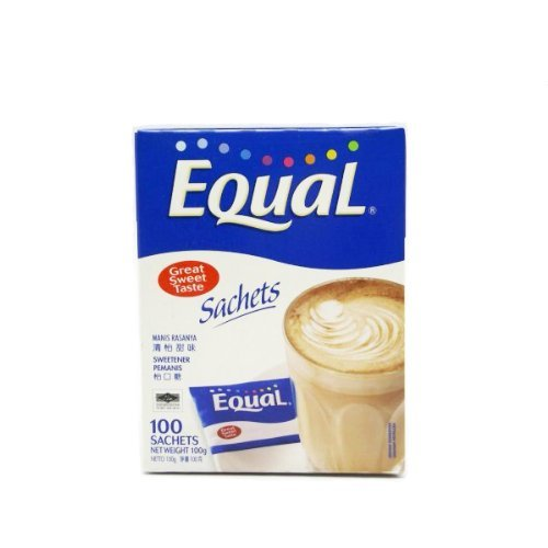 Equal Low Calorie Sweetener For Foods And Drinks 1g x 100 Sachet 100g by Equal by dreamshop (Image #1)