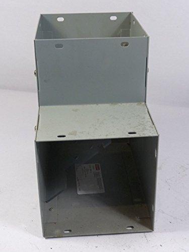 Hoffman F6690EOUT Wireway, 90 Degree Elbow, Outside, NEMA 1, Steel, Fits 6.00