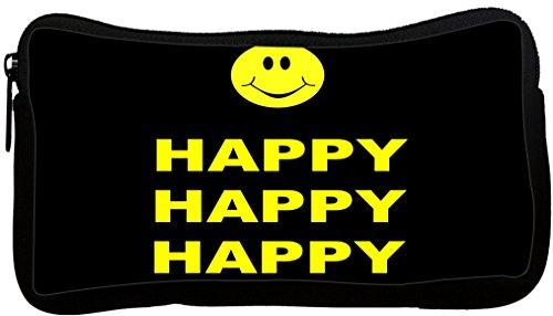 UPC 659053104830, Rikki Knight Happy Round Smiley Face Neoprene Pencil Case (dky-Neo-pc1847)