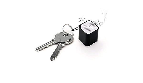 Altavoz portátil pequeño llavero del cubo del altavoz ...