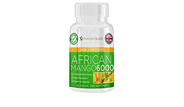 Amazon Com African Mango 6000 Burn Fat Fast 60 Tablets Lose Up