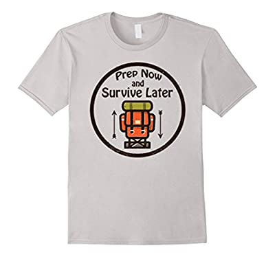 CleanEatology: Prep Now and Survive Later T-Shirt