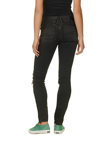G-Star Women's Lynn Women's Black Skinny Jeans - All Black Jeans