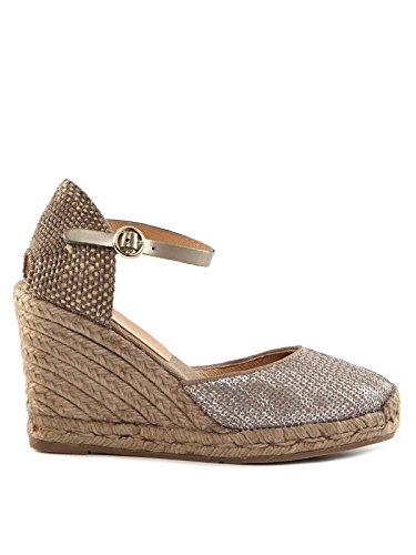 Kanna - Sandalias de vestir de Textil para mujer Marrón marrón marrón