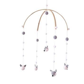 Baby Safe Crib Mobile Bed Bell Holder Toy Decoration Hanging Arm Bracket for Baby Mobile Bed Bell Holder