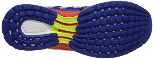 Techfit Blanco 2 Hombre Zapatillas Azul Para M Adidas Naranja Boost Response tPwB1B