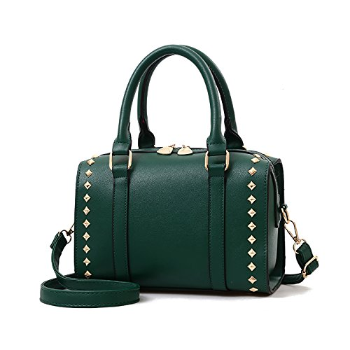 Tisdain Donna borse a mano moda eleganti borse a tracolla Crossbody PU Pelle borse di marca borse per Verde