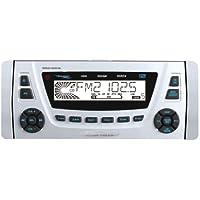 BOSS AUDIO MR2180UA Marine 1.5-Din CD/MP3 Player Receiver, Wireless Remote