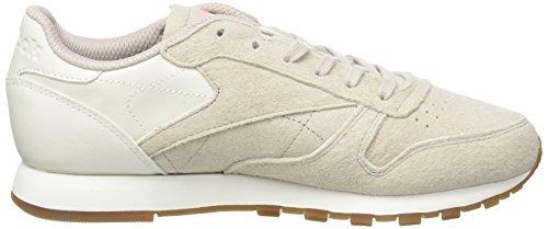 chalk Femme sand Eb Fitness Cl Lthr Stone Rose sour Blanc gum Chaussures Reebok Melon De TUYvqw