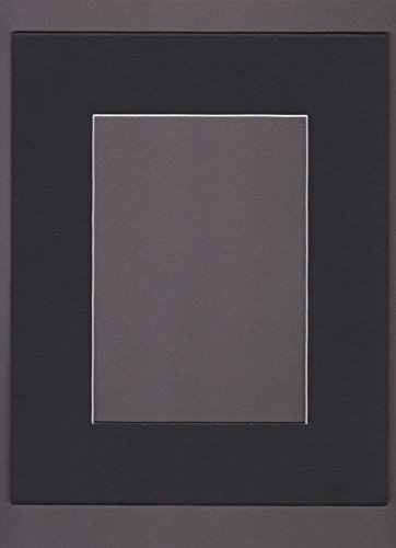 UPC 818036010289, Bux1 Matting 16x20 Black Picture Mats Mattes Matting with White Core Bevel Cut for 11x14 Pictures