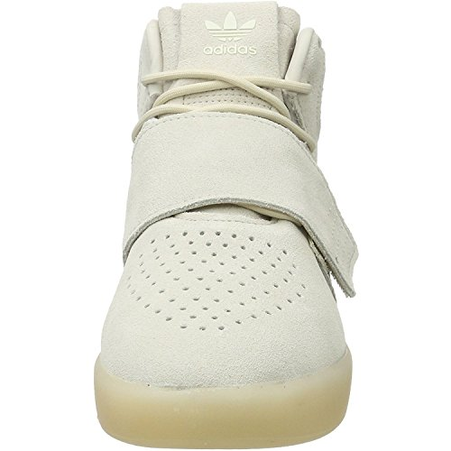 Adidas Originals Tubular Invader Str Junior Clear Brown Leather Trainers Clear Brown