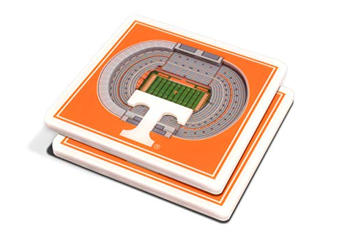 (NCAA Tennessee Volunteers 3D StadiumViews Coasters)