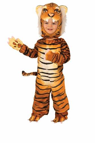 Forum Novelties Plush Tiger Child Costume, Toddler - Tiger Toddler Halloween Costumes