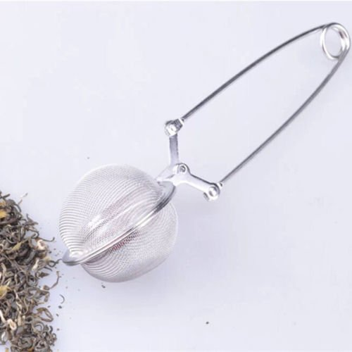 Loose Leaf Tea Stainless Steel Tea Infuser/Filter/Strainer/Ball Durable (Beaded Canister)