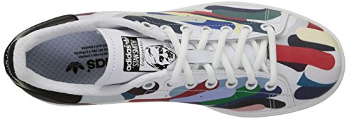 adidas Stan Smith, Zapatillas B24706-Hombre Unisex Blanco / Negro (White/White/Core Black)
