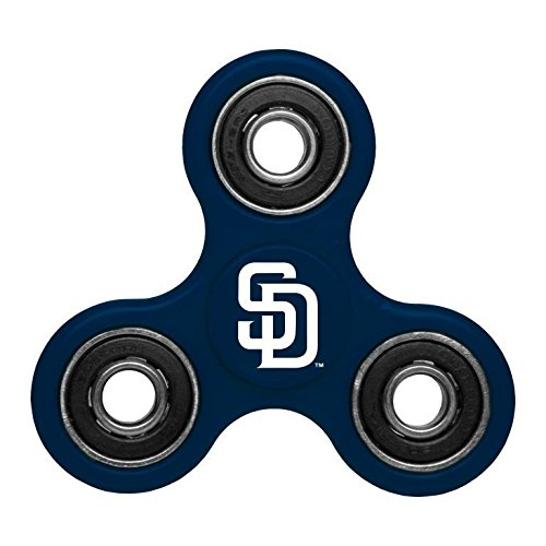 MLB Diztracto Fidget Spinnerz - 3 Way, San Diego Padres, One Size