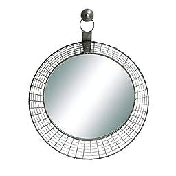 Deco 79 85995 Metal Wall Mirror 30\