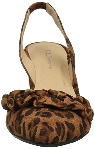 CL by Chinese Laundry Womens Emilia Dress Pump Camel Leopard usJVr