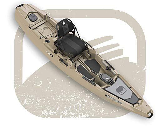 Bonafide RS117 Sit-On-Top Fishing Kayak - True Grit Sand