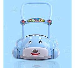 7-18 Meses Niños Andador De Empuje Anti-Rollover Velocidad ...
