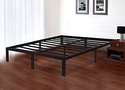 Olee Sleep Olr14bf04q Heavy Duty Steel Slat Bed Frame T