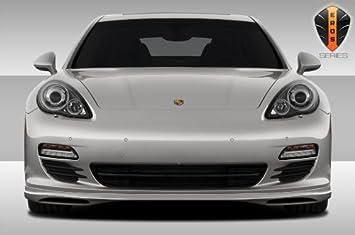 1 Piece Extreme Dimensions Duraflex Replacement for 2010-2013 Porsche Panamera Eros Version 2 Rear Lip Under Spoiler Air Dam