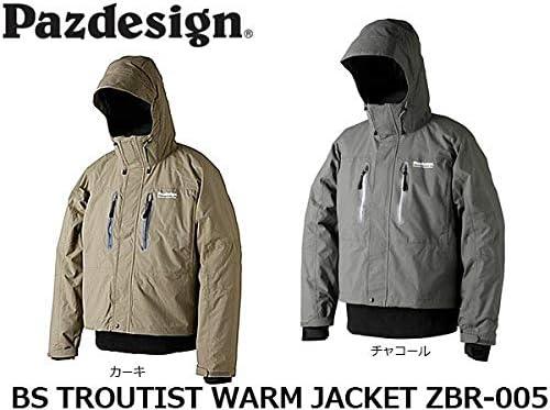 パズデザイン BSトラウティストウォームジャケット ZBR-005 カーキ M